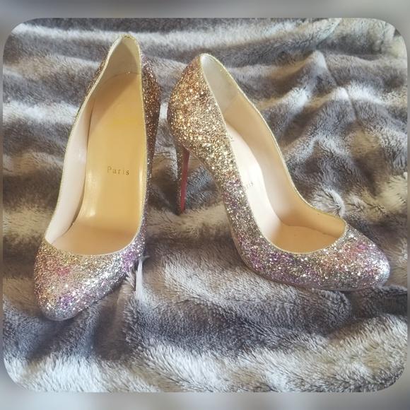 c2fe9f093a Christian Louboutin Shoes | Fifille Sparkle Pump | Poshmark